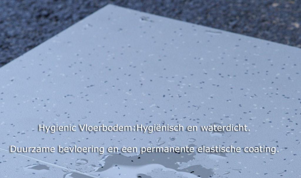 Waterafstotende bevloering met permanente coating: